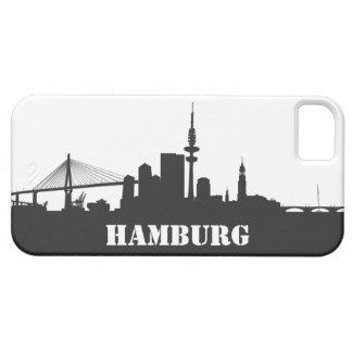 Hamburg skyline iPhone 5 sleeve/Case iPhone 5 Schutzhüllen