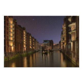 Hamburg Speicherstadt Nachts Photographie