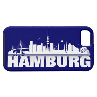 Hamburg town center of skyline iPhone 5 sleeve iPhone 5 Etuis