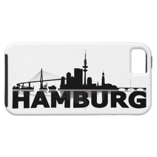 Hamburg town center of skyline iPhone 5 sleeve iPhone 5 Schutzhüllen