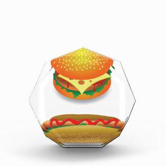 Hamburger Acryl Auszeichnung