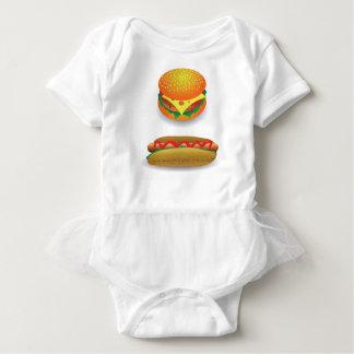 Hamburger Baby Strampler