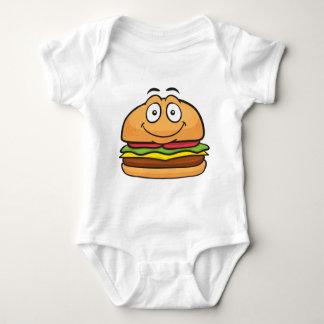 Hamburger Emoji Baby Strampler