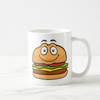 Hamburger Emoji Kaffeetasse