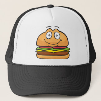 Hamburger Emoji Truckerkappe