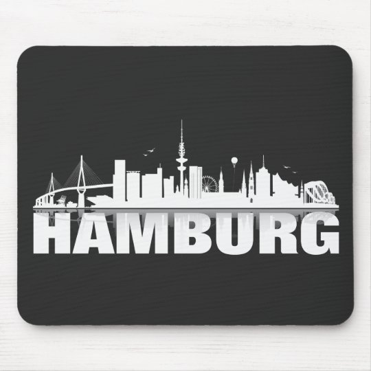 Hamburger Geschenkidee Mousepad
