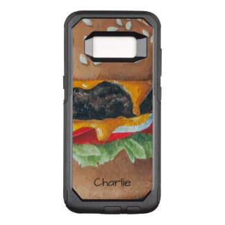 Hamburger-Illustrations-Name-Telefon-Hüllen OtterBox Commuter Samsung Galaxy S8 Hülle