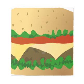 Hamburger Notizblock