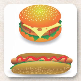 Hamburger Untersetzer