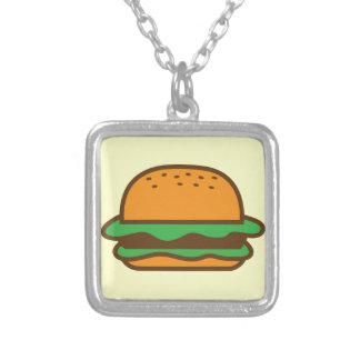 Hamburger Versilberte Kette
