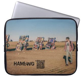 """HAMbWG - Auto-Kunst - Neopren 15"""" Laptop Laptop Sleeve"""