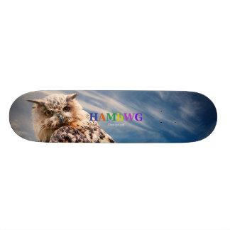 HAMbWG entwarf Skateboard - Perspektiven-Eule Individuelles Skateboard