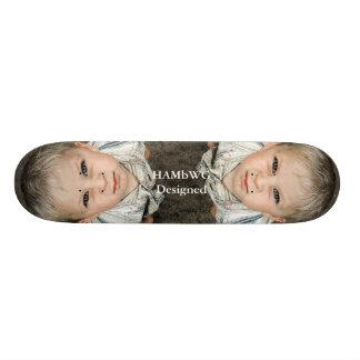 HAMbWG entwarf Skateboard - Zwillings-Perspektive 20,1 Cm Skateboard Deck