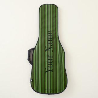 HAMbWG - Gitarren-Hüllen - Smaragdstreifen Gitarrentasche