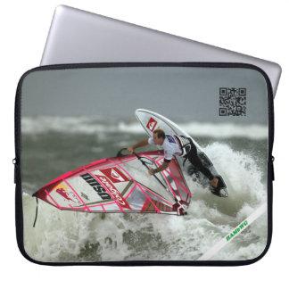 "HAMbWG Wind-Surfen - 15"" Neopren-Computer-Hülse Laptopschutzhülle"