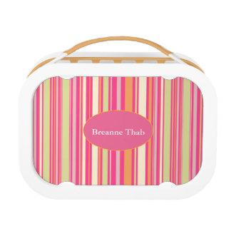 HAMbWG - yubo Mittagessen-Kasten - rosa Bar Brotdose