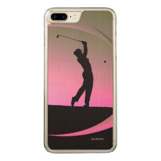 HAMbWG - Zellen-Telefon-Hüllen - Golf-Thema Carved iPhone 8 Plus/7 Plus Hülle