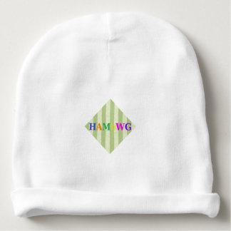 HAMbyWG - BabyBeanie - Limoner Streifen Babymütze