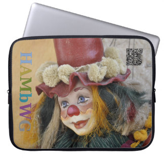 HAMbyWG - böhmischer Clown - Neopren-Laptop-Hülse Laptop Sleeve