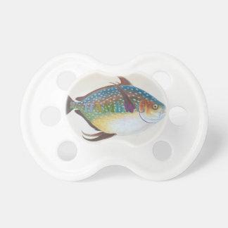 HAMbyWG - BooginHead® Schnuller - antike Fische 1