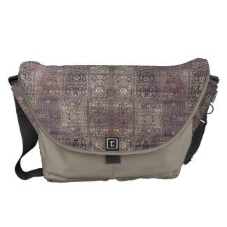 HAMbyWG - Bote-Tasche - Boho Malvenfarbe - Lehm Kuriertasche