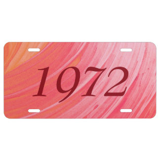 HAMbyWG Eitelkeits-Namen-Kfz-Kennzeichen-rosa US Nummernschild