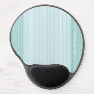 HAMbyWG - Gel-Mausunterlage - Aqua-Steigung Gel Mousepad