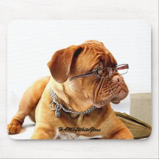 HAMbyWG - Gläser Mousepad der Bulldoggen-w