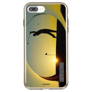 HAMbyWG - Handy-Fall - Golf themenorientiert Incipio DualPro Shine iPhone 8 Plus/7 Plus Hülle
