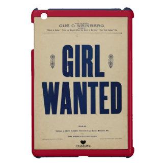HAMbyWG iPad mini harter Fall - Mädchen gewollt iPad Mini Hülle