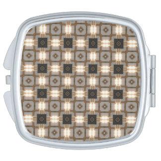 HAMbyWG - kompakter Spiegel - Deko-helles Bild Schminkspiegel