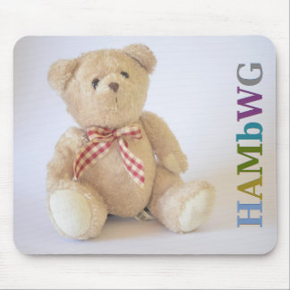 HAMbyWG - Mausunterlage - Teddybär Mousepad