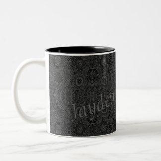 HAMbyWG - Personalizable Tasse - Holzkohle