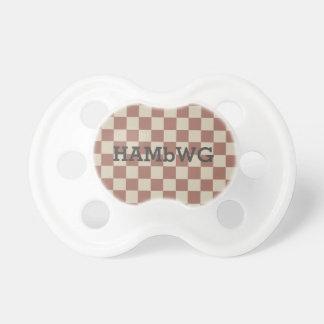 HAMbyWG - Schnuller - antiker rötlicher/beige