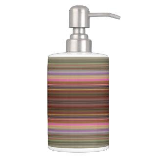 HAMbyWG - Seifen-Zufuhr TB-Halter-n - glänzend Badezimmer-Set