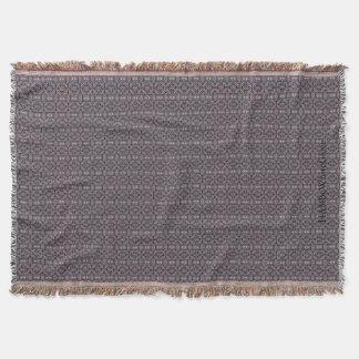 HAMbyWG - Wurfs-Decke - Indien-Tinten-Druck Decke