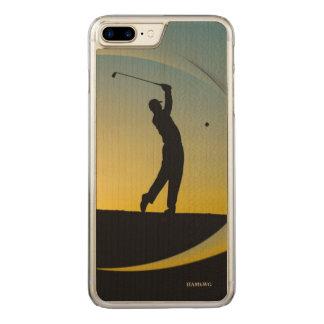HAMbyWG - Zellen-Telefon-Hüllen - Golf Themed Carved iPhone 8 Plus/7 Plus Hülle