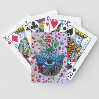 HAMESH Hamsa Hand durch Prisarts Bicycle Spielkarten