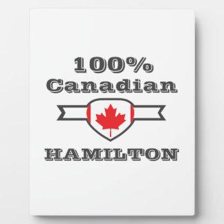 Hamilton 100% fotoplatte