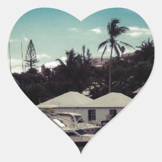 Hamilton-Boot Herz-Aufkleber