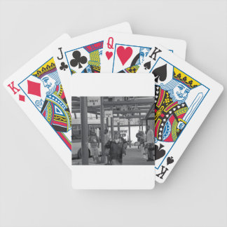 Hamilton-Busbahnhof 02 Bicycle Spielkarten