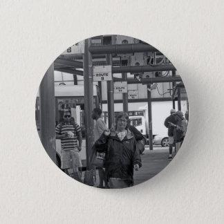 Hamilton-Busbahnhof 02 Runder Button 5,7 Cm