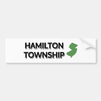 Hamilton-Gemeinde, New-Jersey Autoaufkleber
