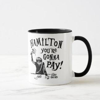 HAMILTON-Kaffee-Tasse Tasse