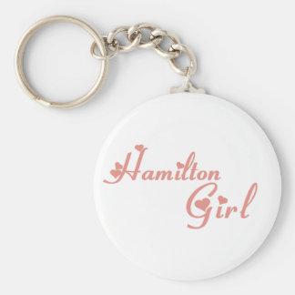 Hamilton-Mädchen Schlüsselanhänger