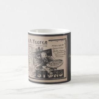 Hamilton-Zeichen-Maler-Tasse Kaffeetasse