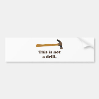 Hammer - dieses ist nicht ein Bohrgerät