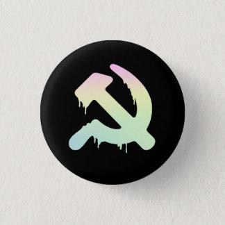 Hammer und Abzeichen Sicc-Le Runder Button 2,5 Cm