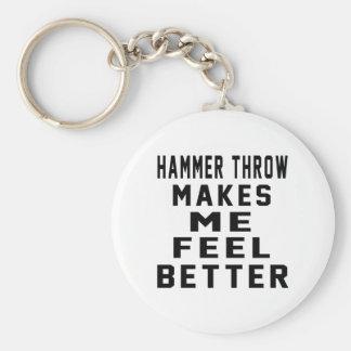 Hammer-Wurf lässt mich besser glauben Schlüsselanhänger