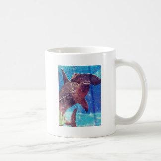 Hammerhai-Haifisch-Malerei Kaffeetasse